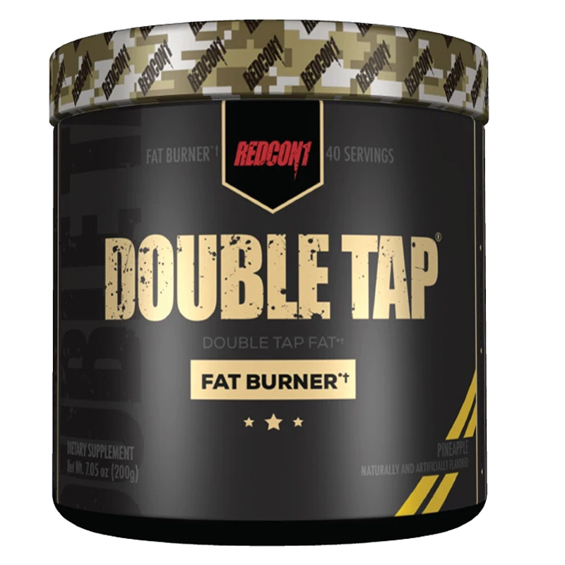 Double Tap by Redcon1 Pre Workout Powder 40 Serves [Pineapple]