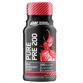 ON Pure Pre 200 Pre-Workout Shot Single