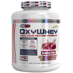 EHPLabs Oxywhey 5lbs 75 Serves 100% Lean Protein Powder by EHP Labs