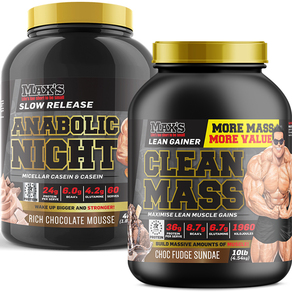 Max's Clean Mass Bulk Challenge Pack 2019