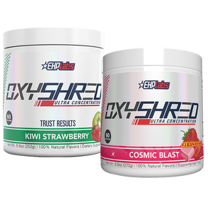OxyShred by EHPLabs 60 Serves Twin Pack Pre Workout