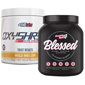 Clear Vegan Blessed Protein + EHPLabs Oxyshred