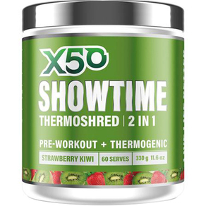 X50 Showtime by Tribeca Health 60 Serves