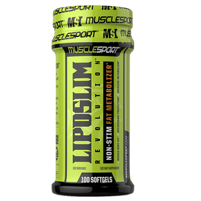 MuscleSport Liposlim Revolution 100 Softgels