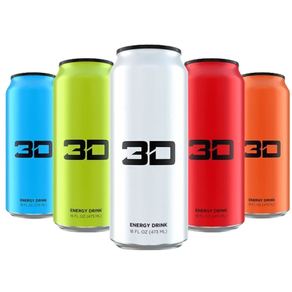 3D Carbonated Energy Drink