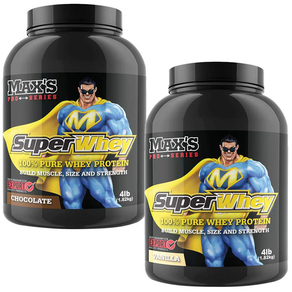 Twin Pack Max's Pro Series Super Whey